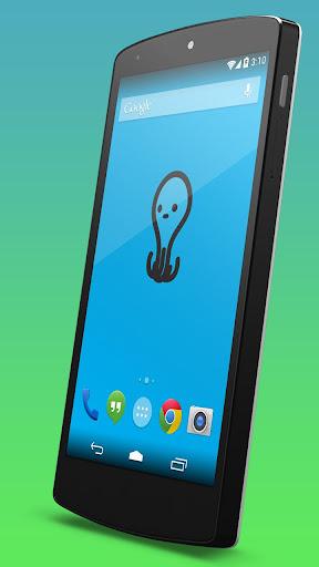 【免費個人化App】可爱的章鱼动态壁纸-APP點子