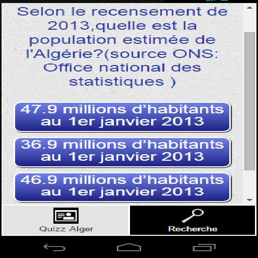 Algerie Quizz