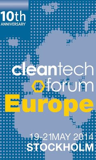 Cleantech Forum Europe 2014