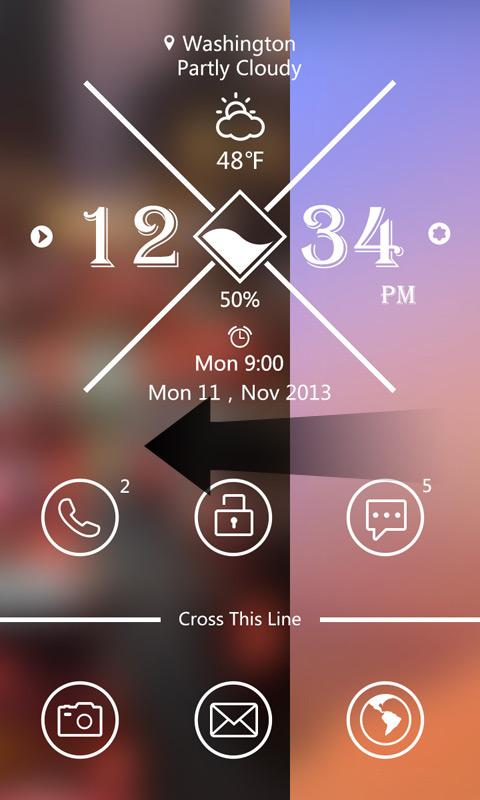 Crossing GO Locker Theme - screenshot