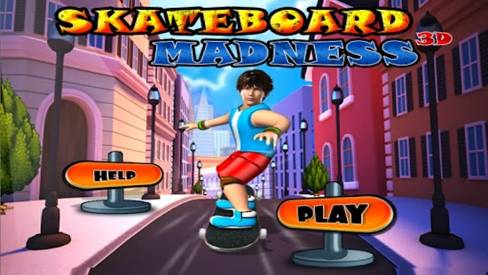 Skate Board Madness 3D Game