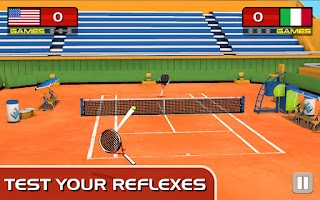Screenshot of Play Tennis