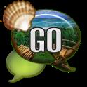 GO SMS - Summer Seas icon