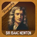Sir Isaac Newton Biography logo