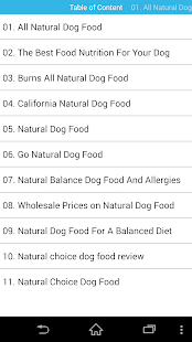 Audiobook - Natural Dog Food- screenshot thumbnail