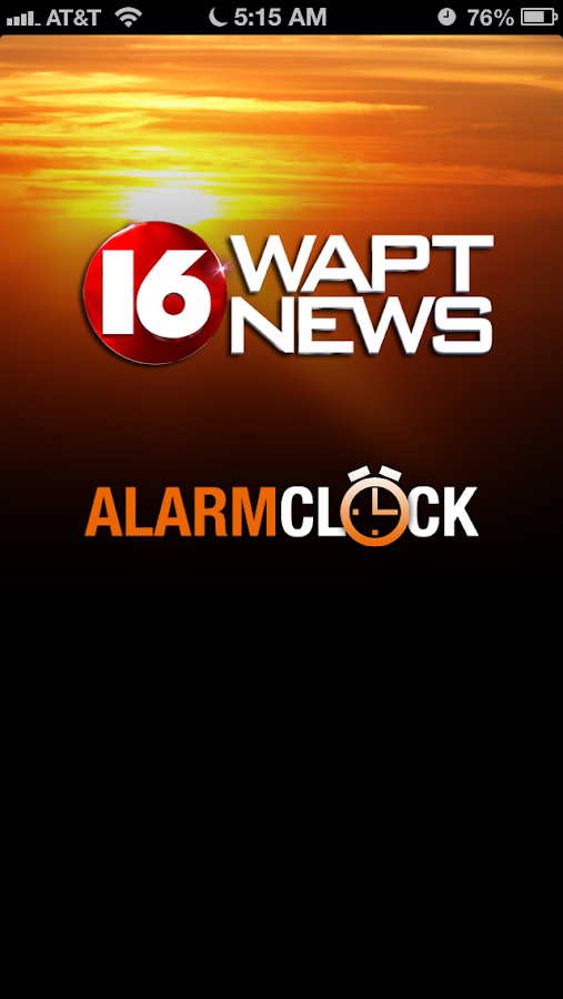 Alarm Clock 16 WAPT News - screenshot