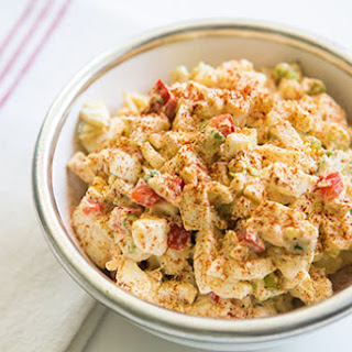 Deviled Egg Salad.