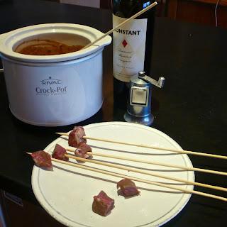Red Wine Fondue Recipe