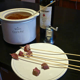 Red Wine Fondue.