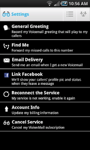 VisionMail Visual Voicemail - screenshot thumbnail