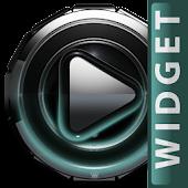 Poweramp widget Petrol Glow