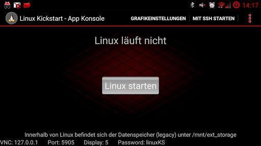 Linux Kickstart ROOT
