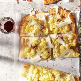 Potato and Rosemary Pizza.
