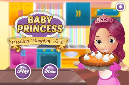 公主烹飪南瓜餡餅