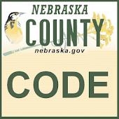 Nebraska County Code Tool