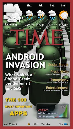 Magazine 1 Theme ssLauncher OR