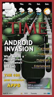 Magazine 1 Theme ssLauncher OR- screenshot thumbnail