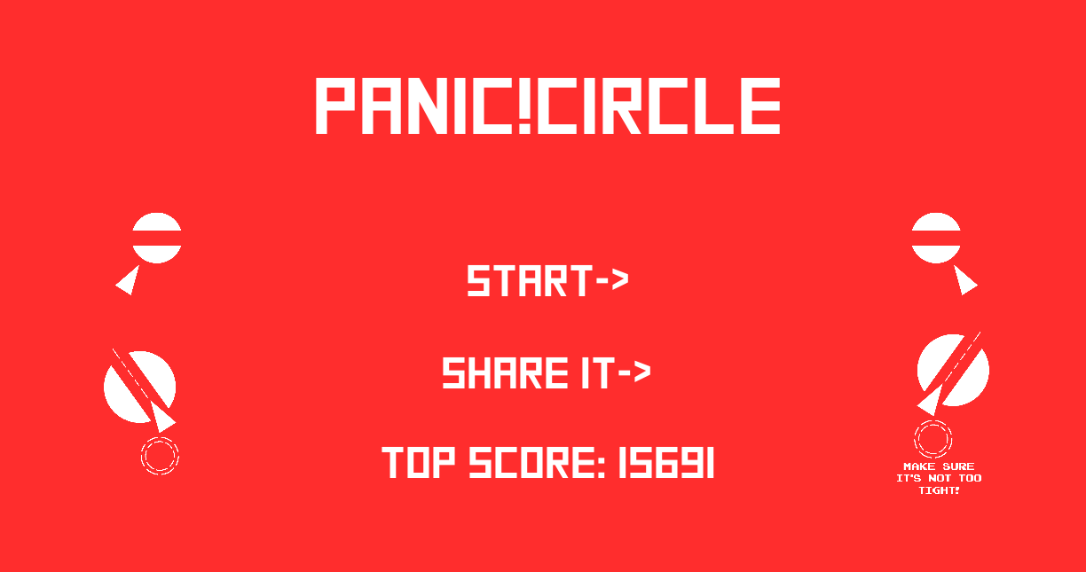 Panic Circle- screenshot