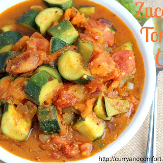Zucchini Tomato Curry Recipe