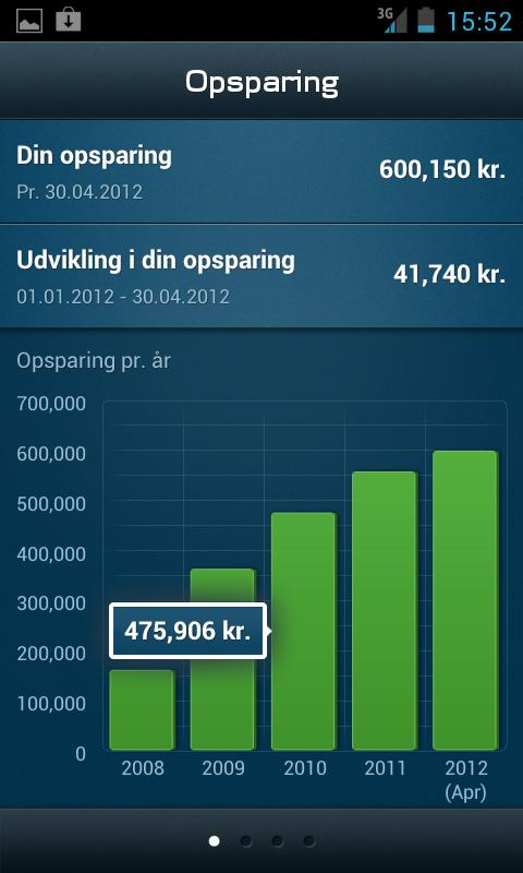 Mobilpension- screenshot