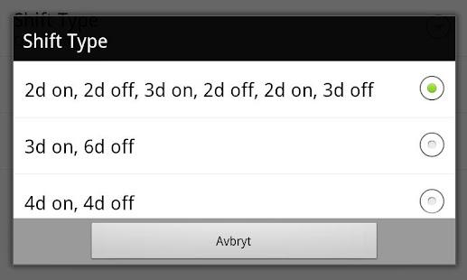 玩免費商業APP|下載Work Shift Calendar app不用錢|硬是要APP