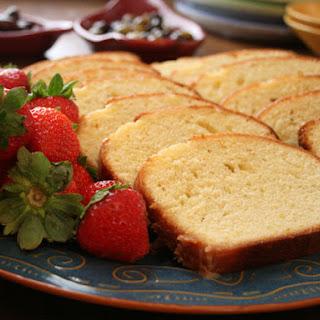 Moist Vanilla Pound Cake, with Three Variations.