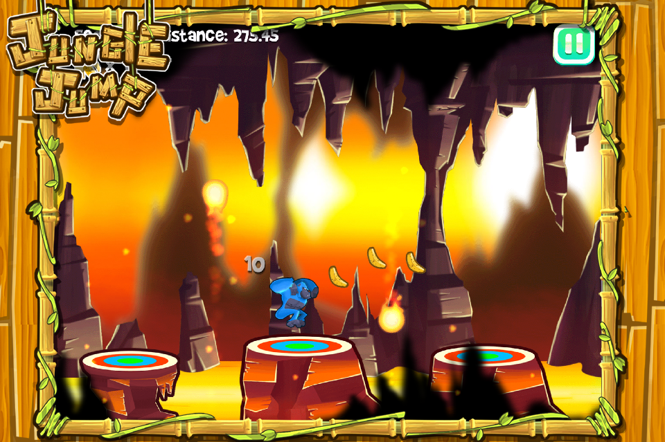Jump Kong - Gorilla Infinity Game- screenshot