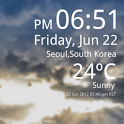 Weather Clock Live icon