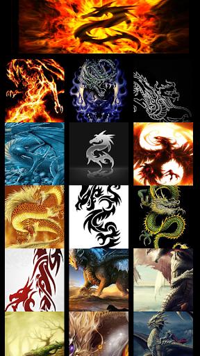 wallpaper Dragon Fantasy