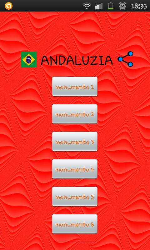 Andaluzia Turismo- screenshot