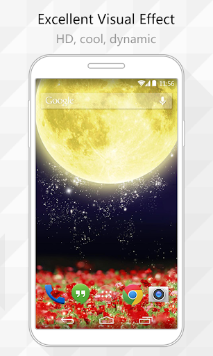 Moon Butterfly Live Wallpaper