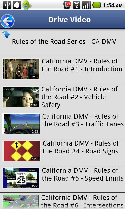 california drivers license rules over 18