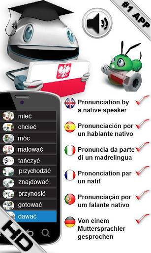 ポーランド語の動詞を学ぶ HD LearnBots