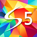 S5 Style Atom Theme icon