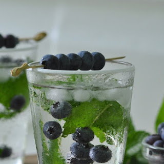 The Blueberry Bramble Cocktail.