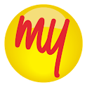 MakeMyTrip, Flights Hotels Bus logo