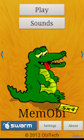 Screenshot of MemObi - Fun Memory with Sound