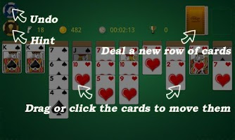 Screenshot of AE Spider Solitaire