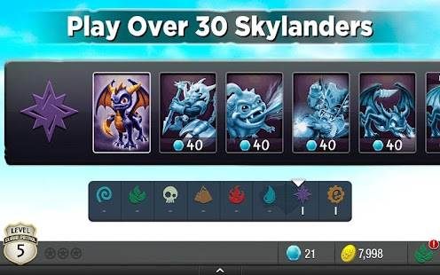 Skylanders Cloud Patrol- screenshot thumbnail