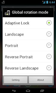 Rotation Lock Adaptive (Free)- screenshot thumbnail