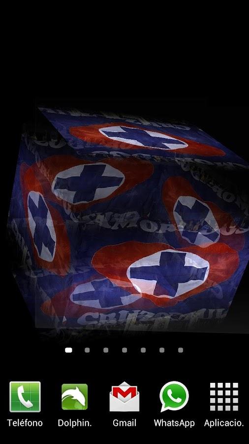 3D Cruz Azul Fondo Animado - screenshot