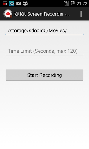 玩工具App|KitKat Screen Recorder免費|APP試玩