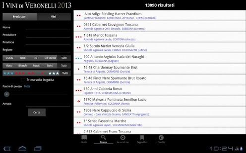 I Vini di Veronelli 2013 - screenshot thumbnail