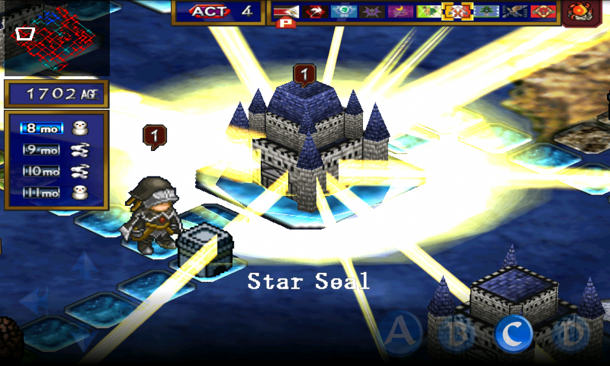 SRPG Generation of Chaos- screenshot