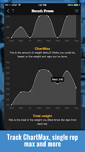 MaxLift Weight Lifting App- screenshot thumbnail