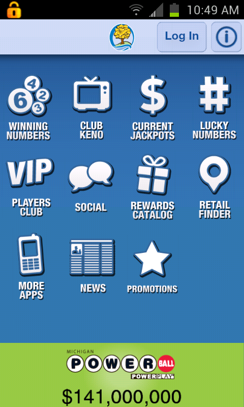 Michigan Lottery Mobile - screenshot