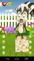 Screenshot of Talking Aryanna Skunk