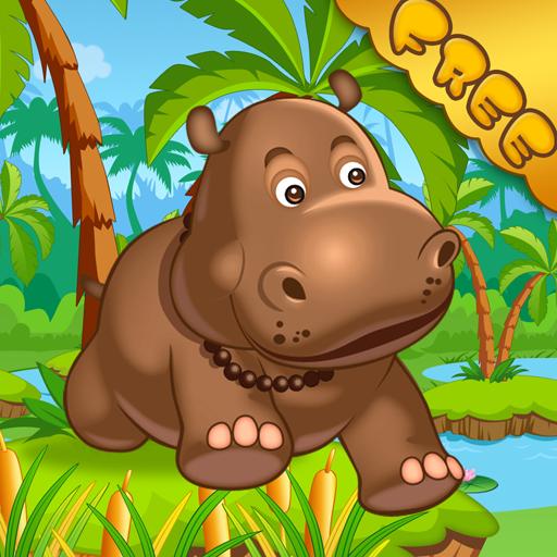 Hippo Runner FREE LOGO-APP點子