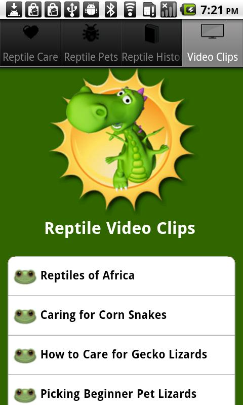 Reptile Care- screenshot