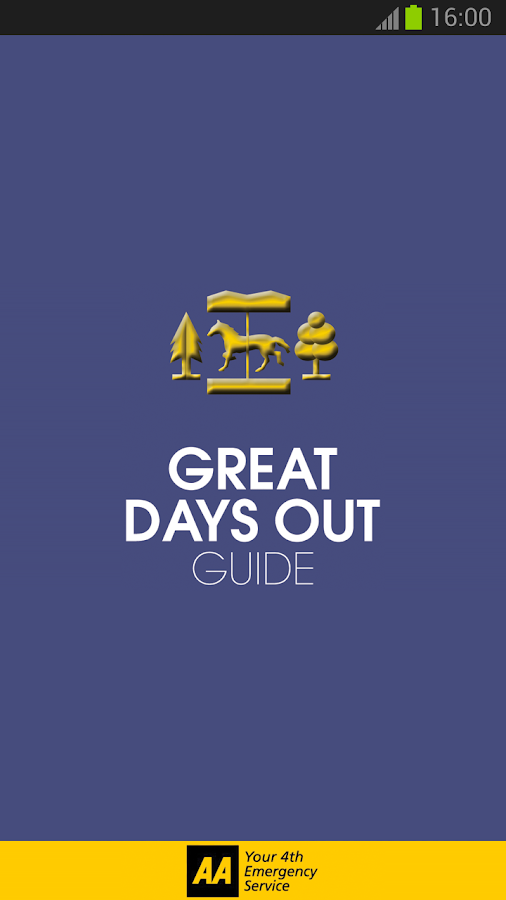 2013 AA Days Out Guide - screenshot